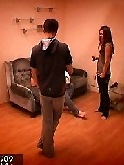Check out this wild hidden camera video. These two girls have no idea that they`re being filmed by a hidden camera. They agreed to make a personal tape, but not one for the internet too!