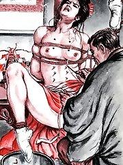 gonzo anime restrain bondage