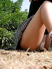 Upskirts in public places pics