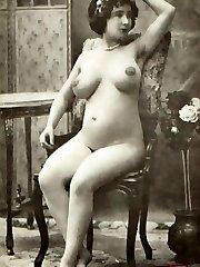 Big naked vintage boobies