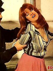 Retro cop banging a hooker