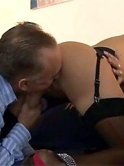 Sluts in stockings pulverizing