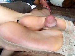Asian feet wank