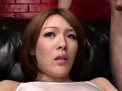 Facial Cumshot to end Reis kinky porn adventure