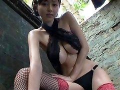 شهوانية الآسيوية tease