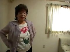 65 Asian Grannie Tub