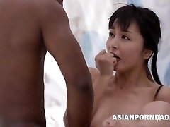 Japanese fuck by two black dicks - ASIANPORNDADD
