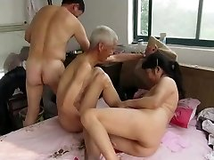Asian Grandpas in Action