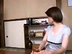 Japanese Mom Comforts Youthfull Boy...F70