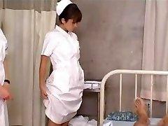 Asian Schoolgirl Nurses Training and Practice