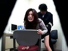 Asian police station antics where cops get to penetrate their su