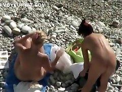 Sensational topless beach girls