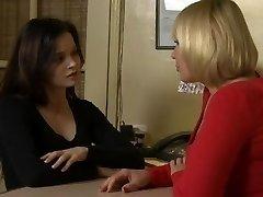 Exotic Lesbian, College romp clip