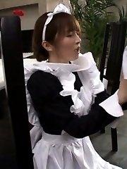 Miku Ohashi Asian sucks boner and gets it AllJapanesePass.com