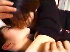 Giapponese Lesbiche Milfs Baci