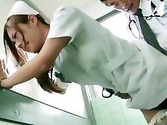 Lewd Japanese cutie Koi Aizawa in Fabulous Nurse JAV scene