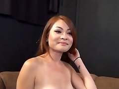 Redhead Asian Sweetheart Has Great Fuct Try-out 420