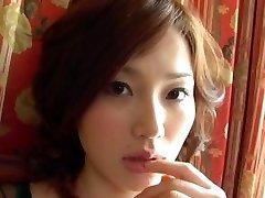 Redhead Asya büyük dick tatma