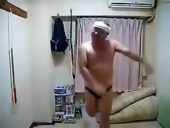 Softcore Horny Chinese Male Dancing