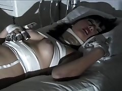Purple Haired Gothic Asian Puts On One Horny Fetish Show