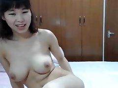 asian big tit finger her rump