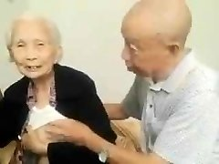 Asian Elder Couple