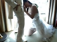 Asian Tgirl Fucks Fresh Husband After Wedding