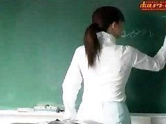 Scorching japanese lecturer