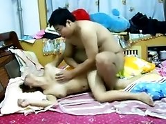 Chinese Couple Having Fuck-a-thon