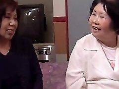Sachi Michiko - Lezzy Asian Grannies