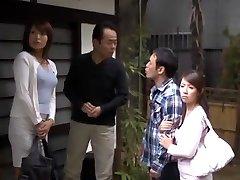 Insatiable Japanese chick Miwako Yamamoto, Misa Yuuki in Exotic Blowjob, Amateur JAV movie