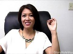 Asian Milf Gloryhole Interview Bj