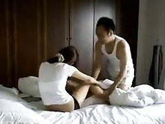 Illegal Taiwan couple making individual sextapes