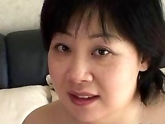 44yr old Chubby Buxom Japanese Mom Craves Cum (Uncensored)