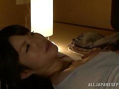 Hot Asian milf Chizuru Sakura pokes with her neighbor