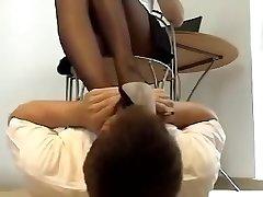 Sexual feet stinking
