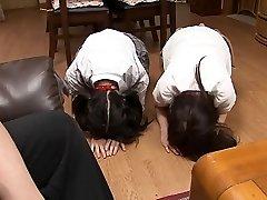 două surori jucărie anală