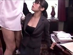 Chinese office girl blowjob service