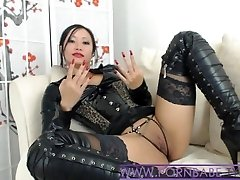 Asian PornbabeTyra Gives You Ultra-kinky Predominance