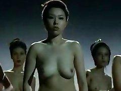 Nackt China Mädchen kämpfen