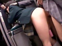 Hottest Japanese whore Natsu Aoi, Yuu Shinoda, Hikaru Yuki in Incredible Masturbation, Lesbian JAV clip
