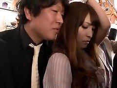 Kinky Japanese girl Kokomi Sakura in Greatest Fingering, Public JAV clip