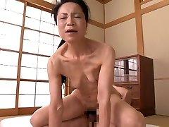 Asian Grandma 70 yo (censored)