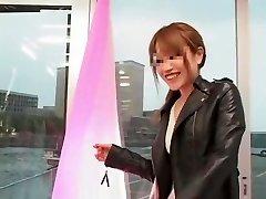 Exotic Japanese mega-bitch in Hottest Smallish Tits, MILFs JAV clip