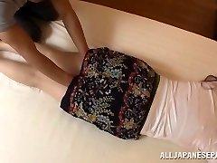 Aoi Aoyama enticing super-fucking-hot mature Asian babe in hardcore act