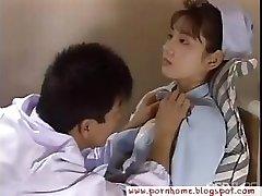 Japanese Nurse plumbed by doctor