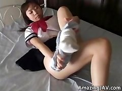 Chinese schoolgirl upskirt in public part2