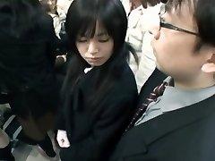 Japanese Handjob Metro 02