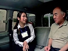Emiri Toda in Tour Guide Gets Pounded In A Van - CosplayInJapan