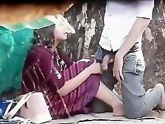 Tailandés parejas al aire libre
